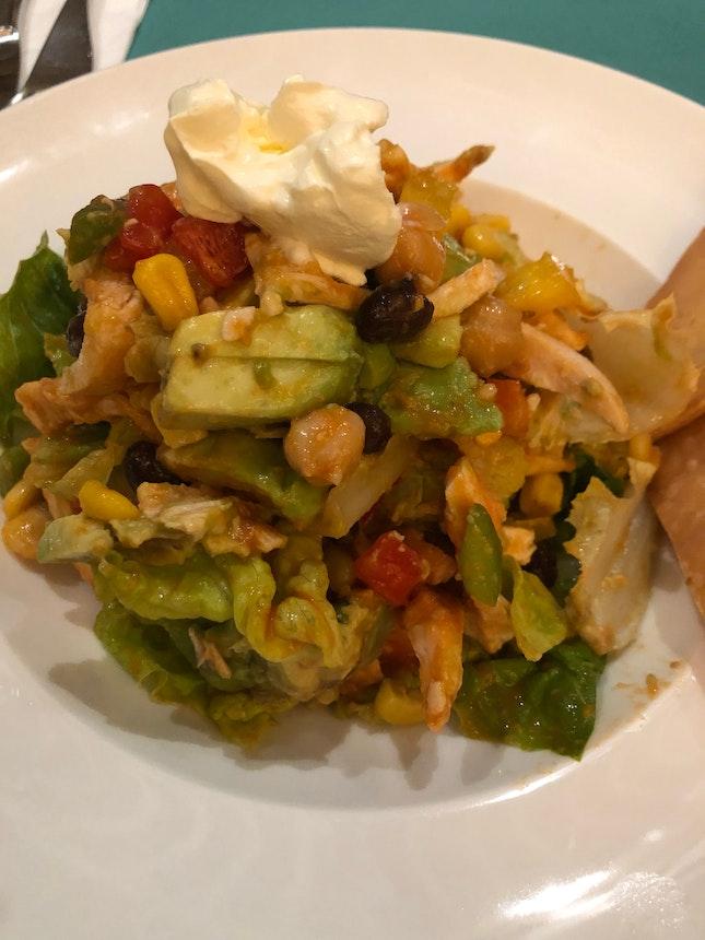 Half Mexican Chicken Salad ($15++)