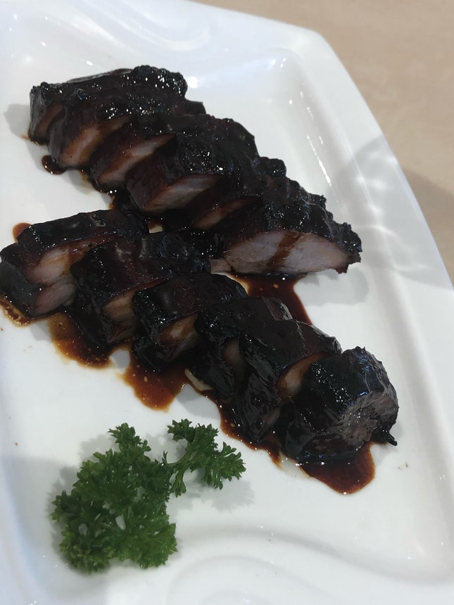Pork Belly Char Siew Is Super Sweet (&23.80++)