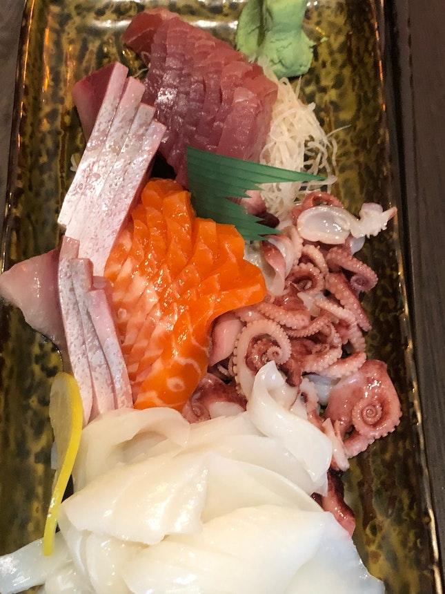 Sashimi At Buffet ($53.90++)
