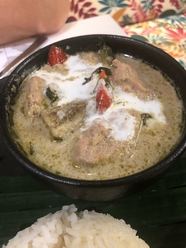 Why Is This Green Curry Sweet?