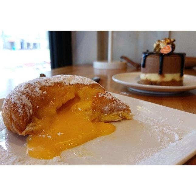 Salted Egg Donut
