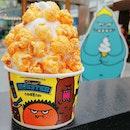 Jeju Tangerine Flavoured Popcorn!!!