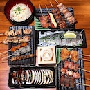 What's for Saturday dinner - Japanese Yakitori in all varieties.