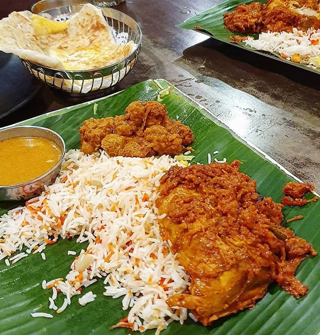 Sharing a family favourite - their chicken briyani has been my dad's top for as long as I can remember.