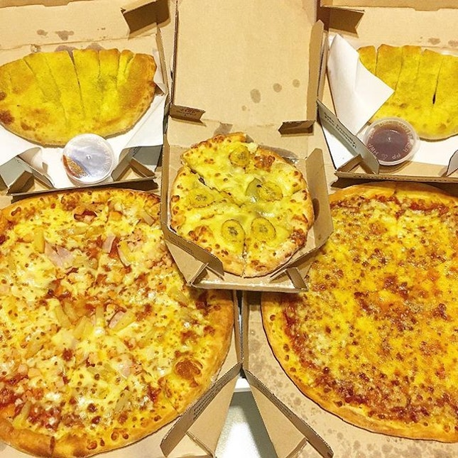 My favourite is actually the small pizza in the middle...