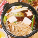 favourite sukiyaki but at a pricier side 😪 ($17.90++, additional udon $5.2++) tried several sukiyaki in sg and this is one of the best.