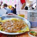 [Taiwan, Taipei🇹🇼] Shilin Night Market (basement foodcourt) - Taiwan Oyster Omelette..