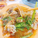 Cuttlefish + Kang kong