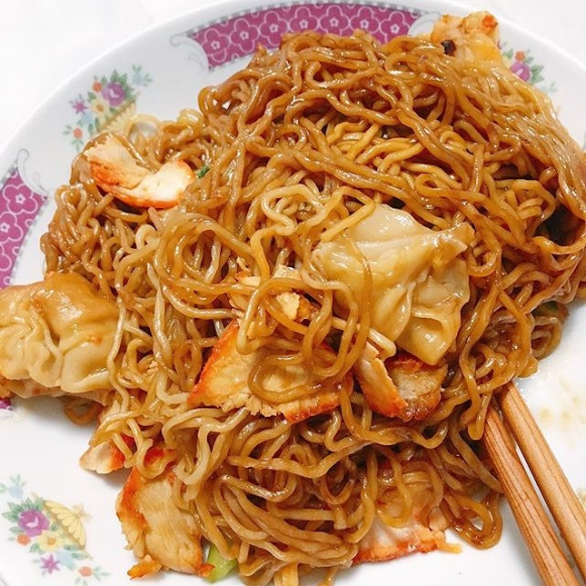recently into the Malaysian style wanton mee (black sauce, sometimes mix with ketchup).