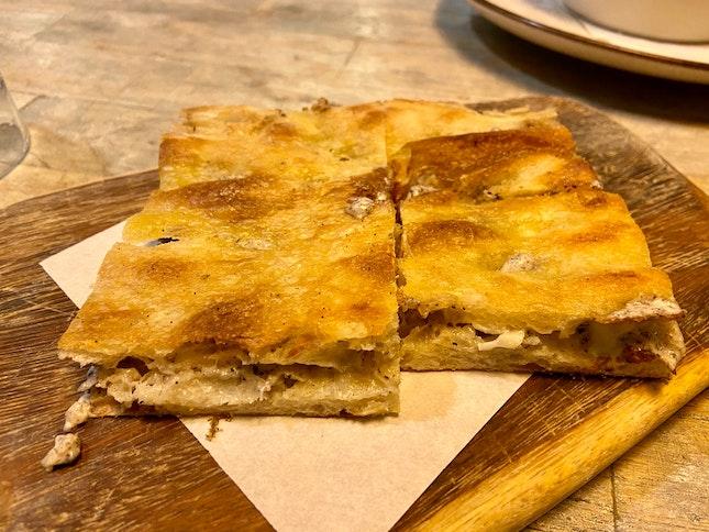 Traditional Stuffed Roman Schiacciata With Truffle ($10)