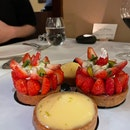Lemon/Strawberry Tart ($9/ea)