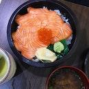 Salmon Ikura Don ($16)