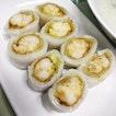 Rice Flour Roll W Fried Shrimp ($6.80)