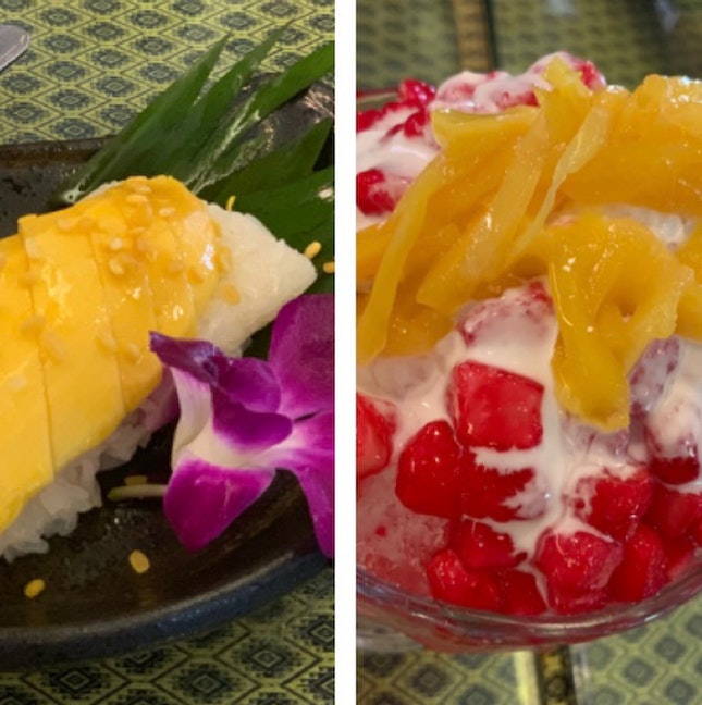 Mango Sticky Rice & Red Ruby Ice
