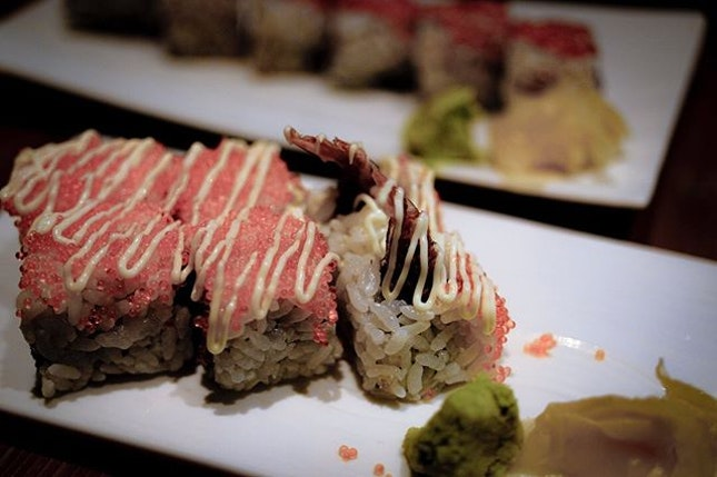 The Ebi Fry Maki is comfort, soul food for me, especially when your soul (not your body) needs nourishment.