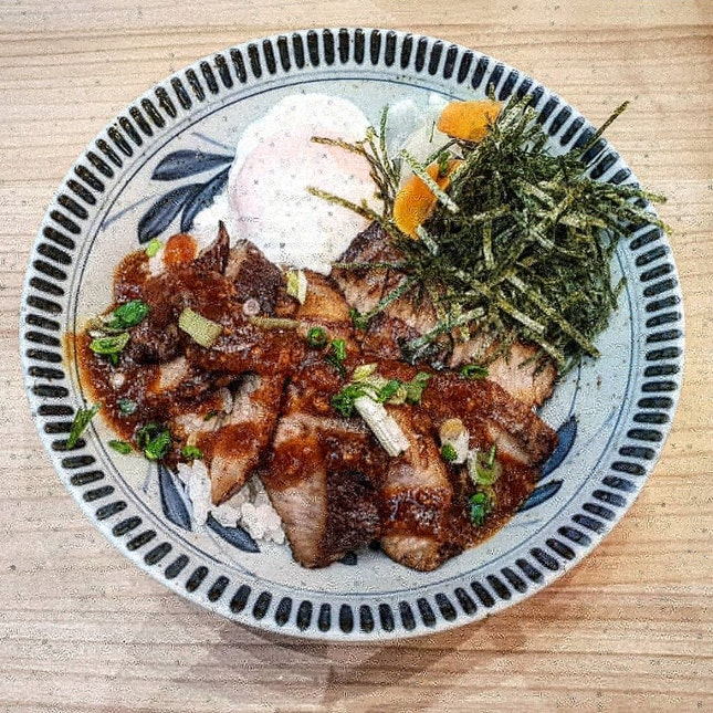 Opening 50% Off Promotion For Iberico Pork Jowl Donburi