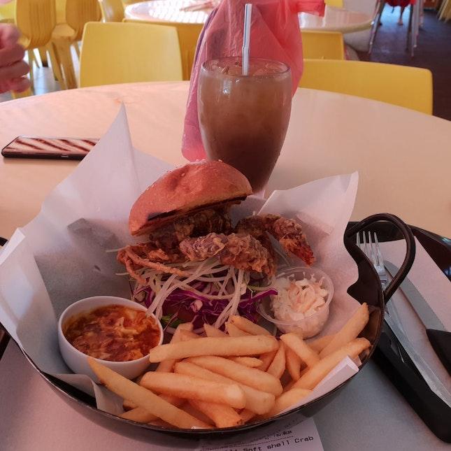 KEK's Local Fusion Burger Stall