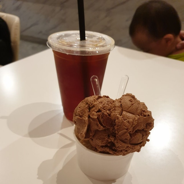 Earl Grey And Milo Dinosaur Ice Cream