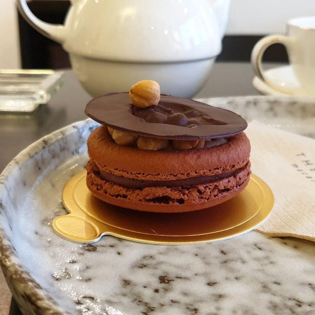 Giant Macaron Dessert