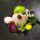 Seabream Fish with Caviar