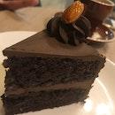 Real Dark Choc Cake