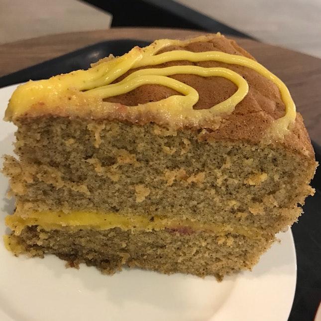 Lemon Earl Grey Raspberry Cake ($5)
