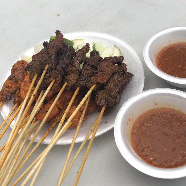 Beef And Chicken Satay (20 Sticks $14)