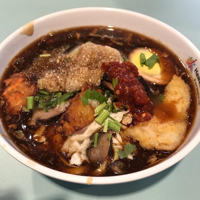 Lor Mee + Fried Fish