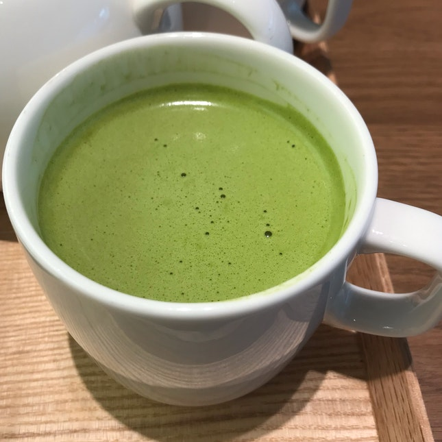 Hot Matcha Latte ($5.90)