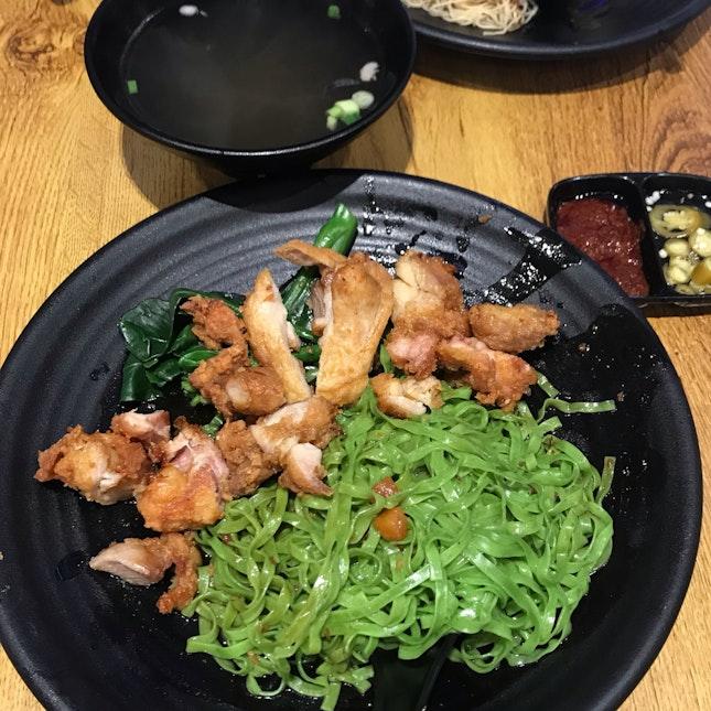 Chicken Cutlet Noodles ($7.80)