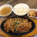 Korean Bbq Chicken Hotplate