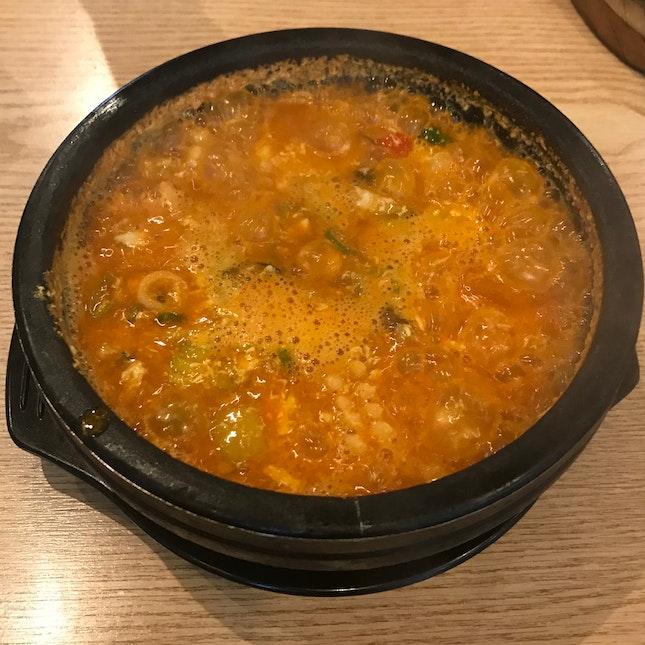 Seafood Soon Dubu Jjigae ($15.90)