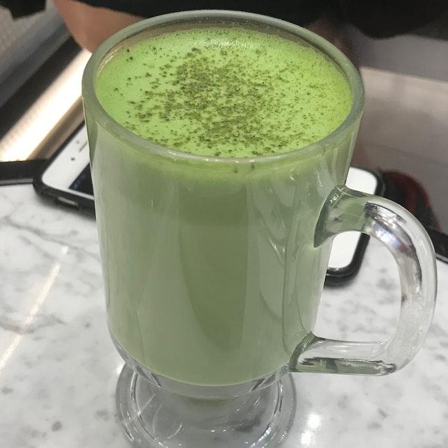 Matcha Latte ($7.50)
