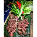 Grilled Australian Wagyu Beef Short Plate SGD 26++.