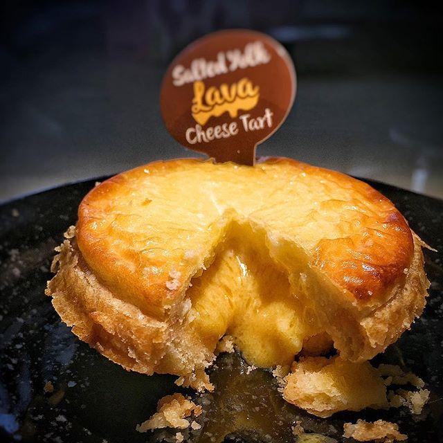 Salted Egg Tart from @primadelisg SGD 2.40.