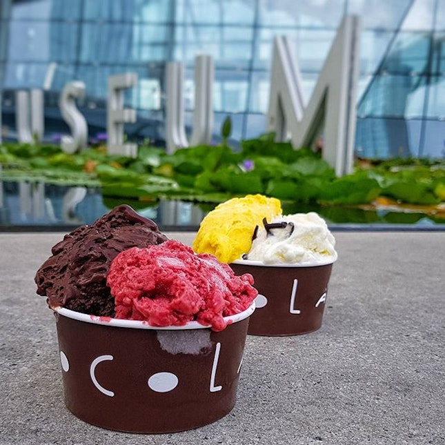 Italian Artisan Gelato by @ChocolatMilano is now available at @DaPaoloSG Gastronmia MBS.