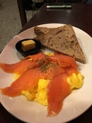 ADB Smoked Salmon Scramble