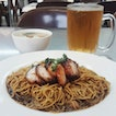 Char Siew Wantan Noodle With Hawker Price
