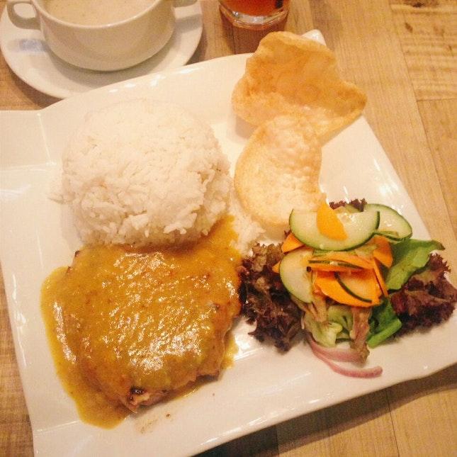 Grilled Chicken With Kelantan Percik Sauce