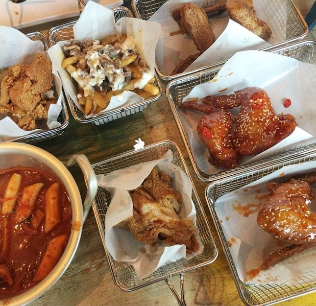 Marine Parade // Korean Chicken Buffet
