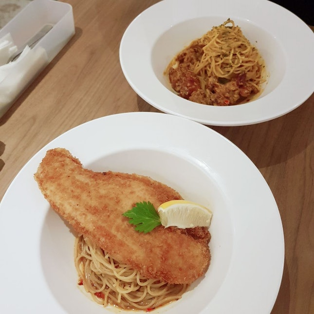 Affordable Pasta At Boat Quay