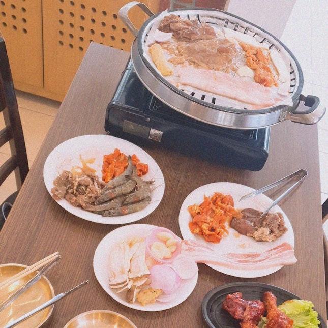 Korean BBQ Buffet $15.90+