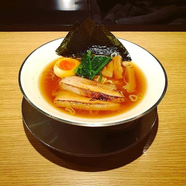 This Niigata Shoyu ramen was so good.
