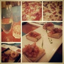 Pre birthday italian dinner!