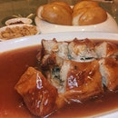 Braised Whole Boneless Spare Ribs With Sweet & Sour Sauce ($18)