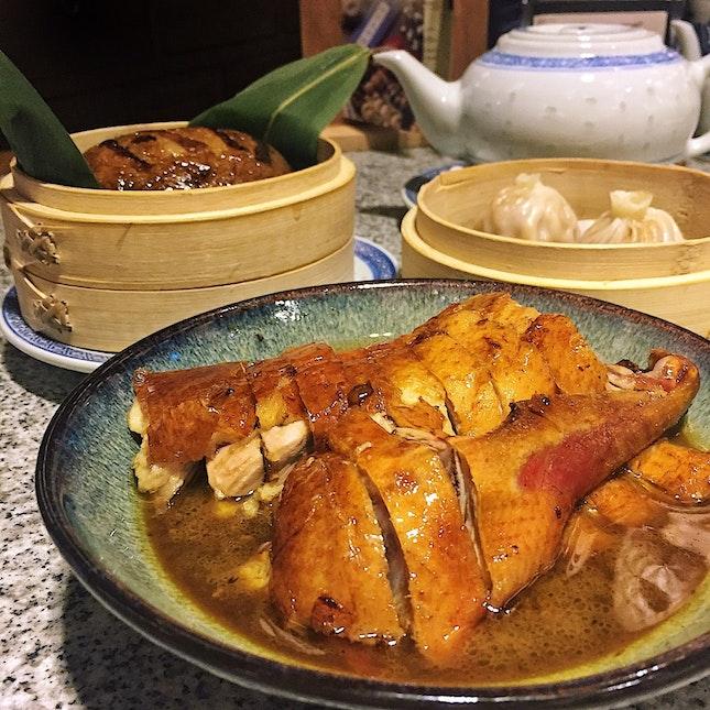 Jinling Roast Duck 🦆 ($16.80/small)