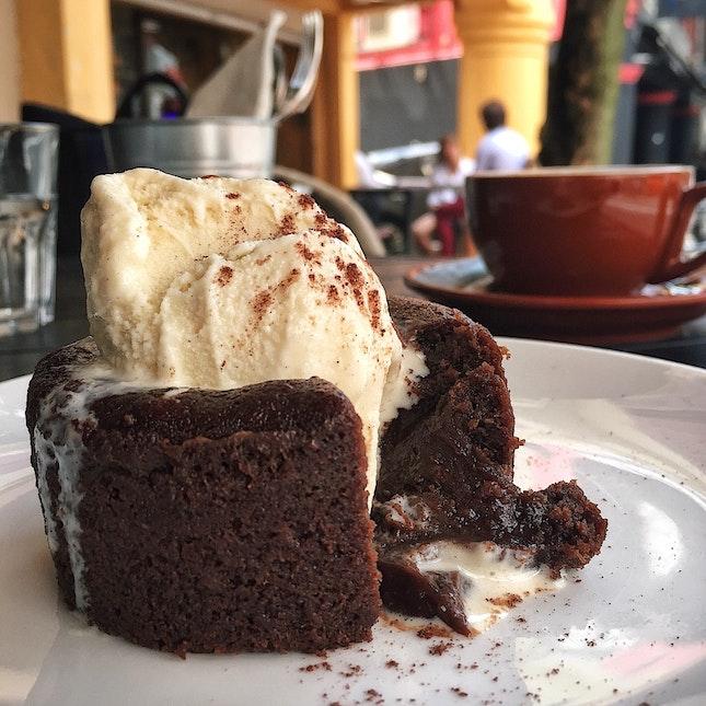 Chocolate Lava Cake ($7)