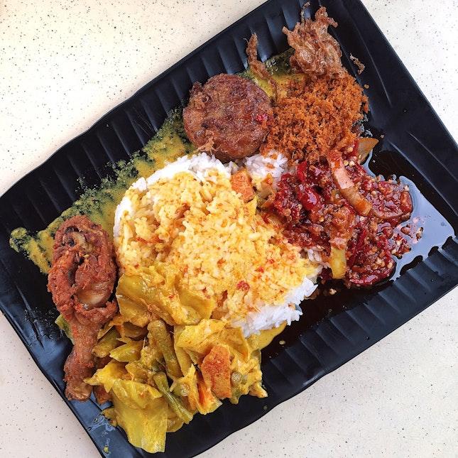 Nasi Padang ($4)