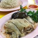 Tai Loke Hainanese Chicken Rice ($4/thigh with egg)