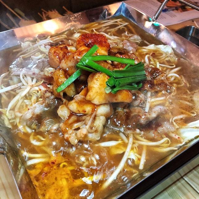 Chiritori Hotpan Beef ($18/small, $34/large)